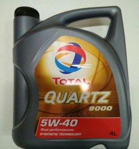 Total 5W40 синтетика масло 4 литра