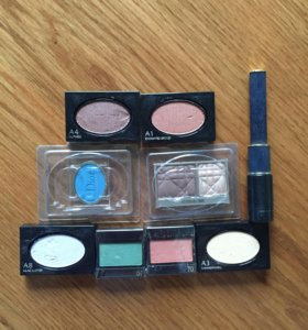 Тестеры shiseido, dior, clue de peau
