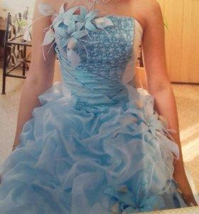 Платье для выпускного (свадебное)