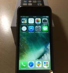 iPhone 5s 32 space grey новый