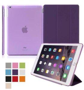 Smart Cover+Bumper для iPad mini 2/3/4 фиолетовый