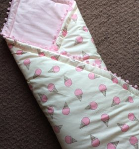 Одеялко-покрывало в коляску/кроватку
