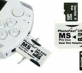 PhotoFast CR-5400 для Sony PSP