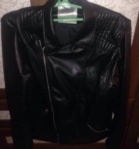 куртка кожаная Gloria Jeans