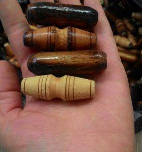 Деревянные висюльки для изготовления штор