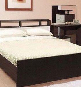 Кровать Саломеяя 1,6 м с матрасом.
