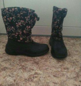 Детская обувь зимняя