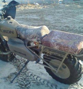 Вездеходный мотоцикл Rokon Trail-Breaker Hunter