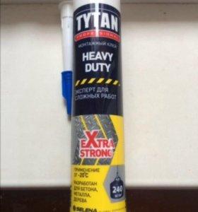 Клей монтажный titan heavy duty