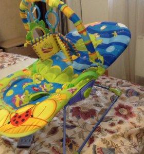 Шезлонг-качель Amico, детское кресло