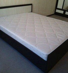 Кровать с матрасом Фиестаа