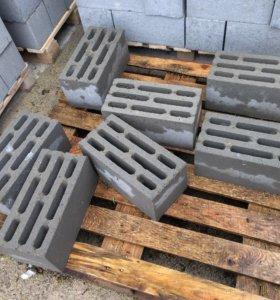 Блоки стеновые восьмищелевые