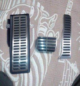 Накладки на педали АКПП: Audi, Skoda, VW.