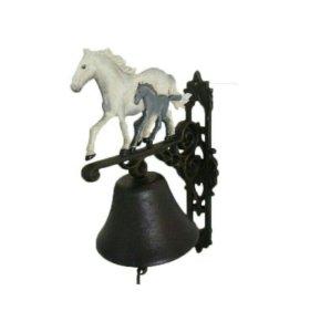 Чугунный колокол Лошадь с жеребенком