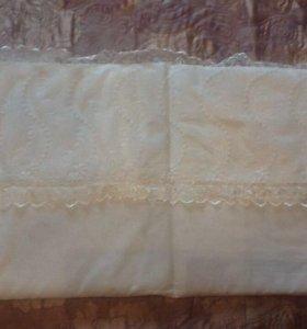 Бортики и одеялко в кроватку плюс пододеяльник