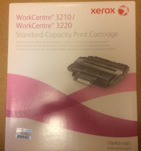 Картридж Xerox 3210/3220 106R01485 black новый