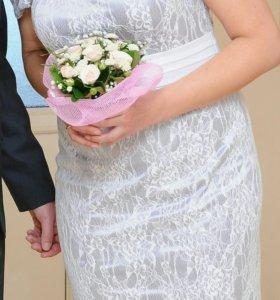 Шикарное платье!р 44-46.
