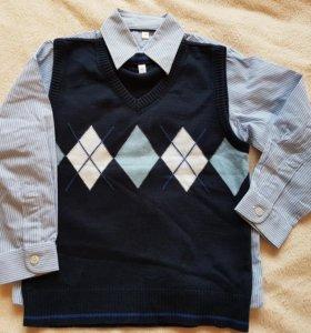 Palomino рубашка и безрукавка