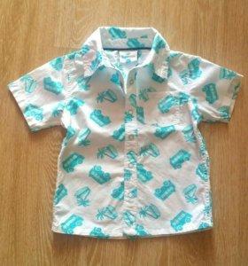 Рубашка фирмы Topomini размер 92