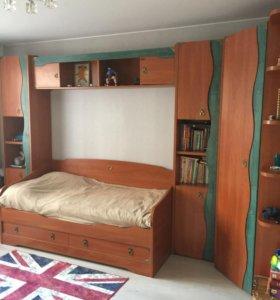 Детская мебель с двумя отдельными кроватями