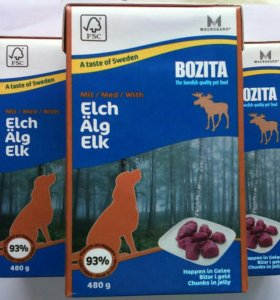 Бозита для собак с мясом оленя