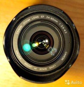 Объектив Canon EOS 24-85 mm