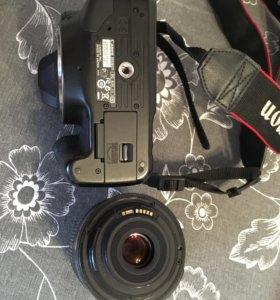 Canon 550 D + объектив 18-55мм