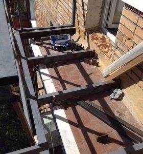 Вынос и сварка балконов в Самаре