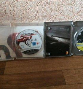 Диски на PS3 1 диск стоит 500р.