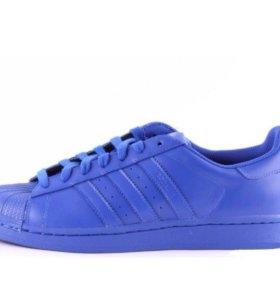 Адидас синие 38