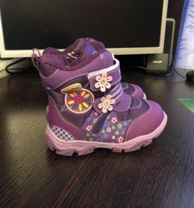 Ботинки новые весна