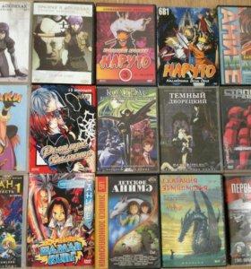 DVD диски с фильмами, сериалами, мультфильмами