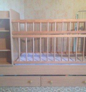 Кроватка детская -трансформер