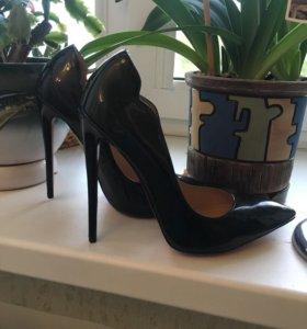 Черные Туфли Лабутены Louboutin