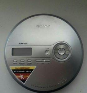 Mp3 cd плеер sony
