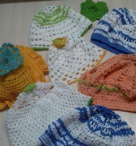 Летние шапочки и береточки