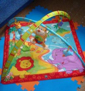 Развивающий коврик Tiny Love с музыкал. игрушкой