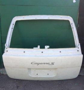 Крышка багажника Porsche Cayenne б/у