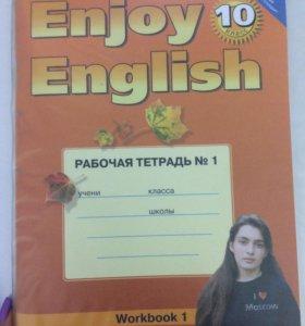 Английский язык рабочая тетрадь 10 класс
