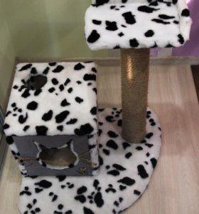 Домик и когтеточка для кошки