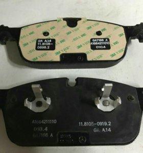 Тормозные колодки передние Мерседес w166 МЛ класс