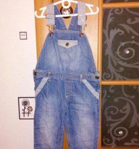 Детский джинсовый комбинезон с 86-92 р.