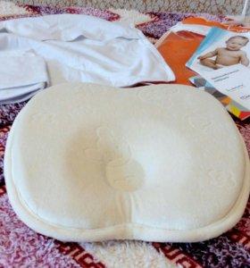 Подушка для новорожденных с эффектом памяти Luomma