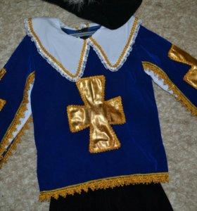 Новогодний костюм мушкетера на 110