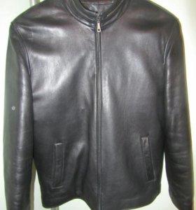Кожаная зимняя куртка мужская CADENBO