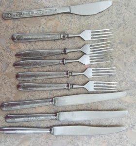 Вилки ножи нержавейка