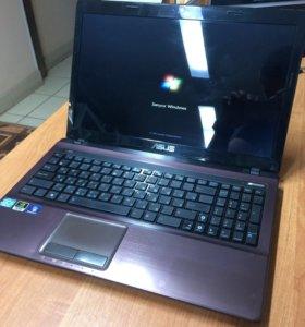 Мощный ноутбук Asus K53