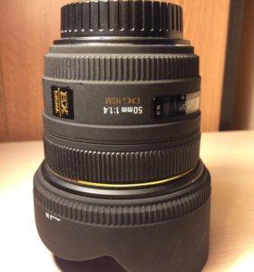 Sigma 50mm f1.4 CANON