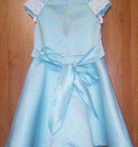 🌼Коктейльное платье 98-110 размер🌼