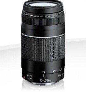 Объектив Canon zoom lens ef 75-300mm 1:4-5.6